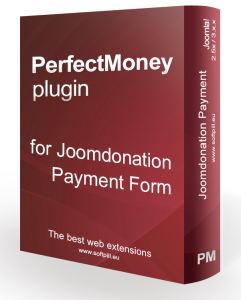 PerfectMoney for Payment Form